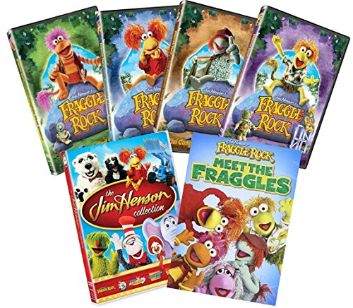 Fraggle Rock: Complete Series Collection Seasons 1,2,3 & 4 + Meet The Fraggles & The Jim Henson Collection LIMITED EDITION IN DVD
