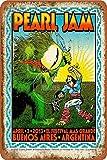 Tonight's Pearl Jam Poster Tin/Metal Style Street Poster