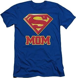 Superman DC Comics Super Mom Adult Slim T-Shirt Tee