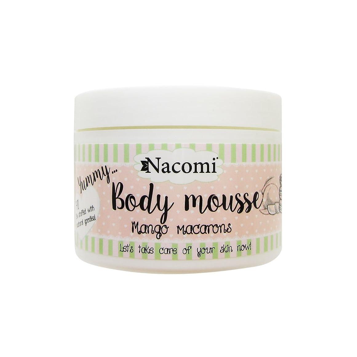 一般的な恒久的商業のNacomi Body Mousse Mango Macarons 180ml [並行輸入品]