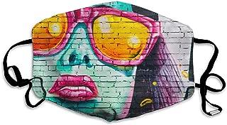 FEDSQ Unisex Fashion Mask Singapore Art Dust Allergy Influenza Mask Ski Bike Half Mask