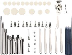 Juego de herramientas de reparación de clarinete, piezas de repuesto para instrumento de clarinete de viento de madera.