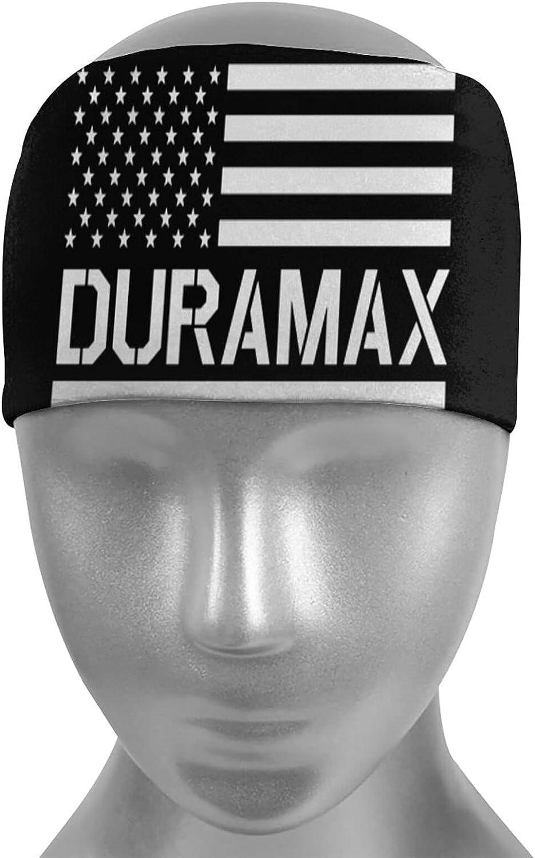 Ldmsl Max 49% OFF American Flag Duramax Unisex shop Elastic Athletic Sweatbands N