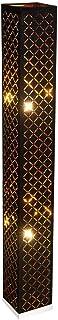 Lampadaire Design noir Living Luminaire de plafond Luminaire sur pied Textile Luminaire sur pied GOLD Globo 15229S2