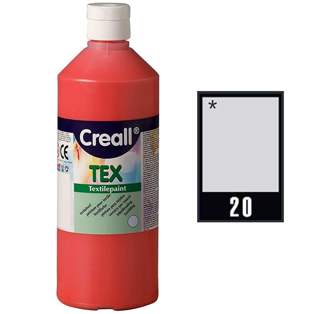 Creall Havo24040 250 ml 20 Silver Havo Textile Paint Bottle