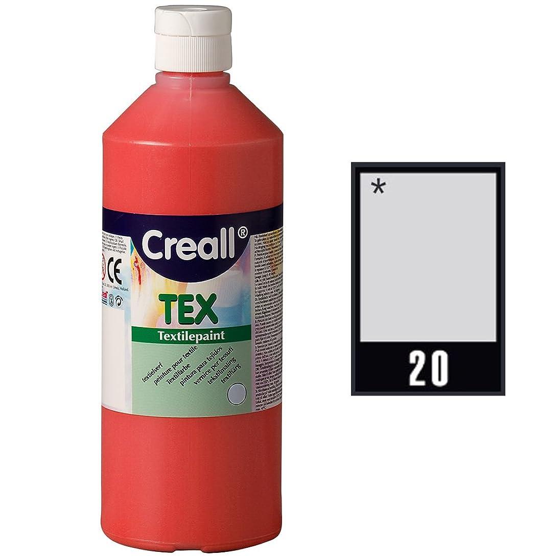 Creall Havo24040 250 ml 20 Silver Havo Textile Paint Bottle