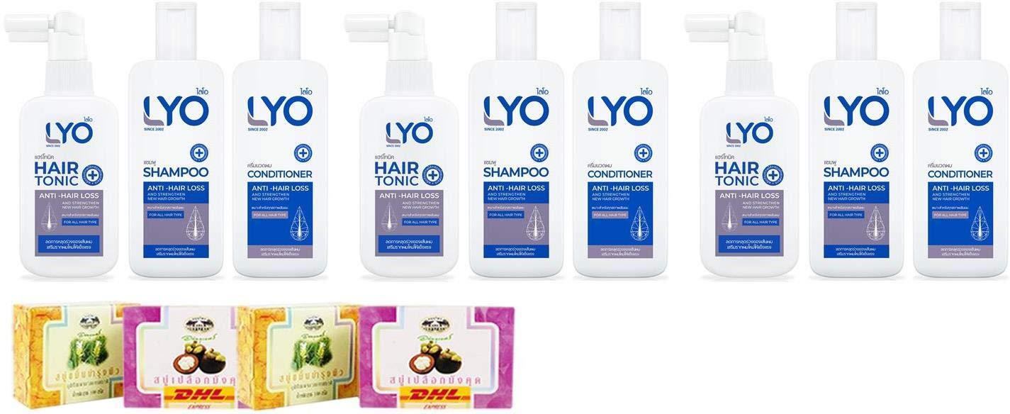 Fashionable Value Packs Set Lyo Shampoo + DHL Hair Express Ton Conditioner 5 ☆ very popular