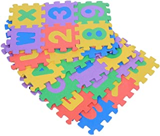 36pcs Suave Espuma EVA Puzzle Juego Alfombras Números y