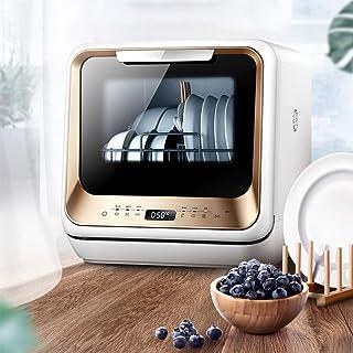 WZF Mini lavavajillas de sobremesa para el hogar Lavavajillas de diseño pequeño Inteligente Completamente automático, bajo Nivel de Ruido, no Requiere instalación