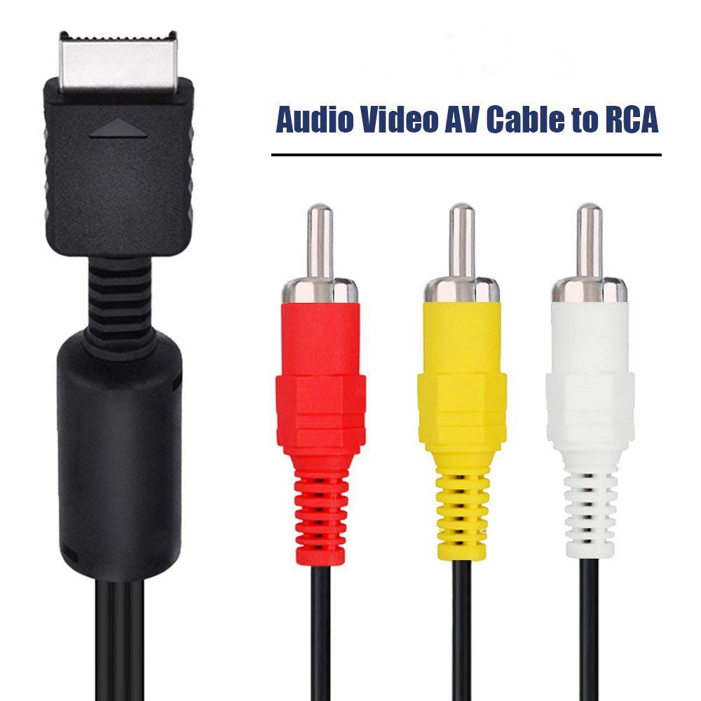 Mosuch Playstation/PS2/PSX AV to RCA Cable: Amazon.com.au: Video Games | Ps2 Av Wiring Diagram |  | Amazon.com.au