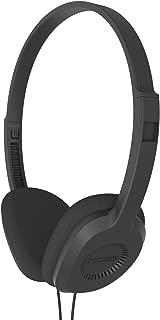 Koss KPH8K On-Ear Stereophone, Black