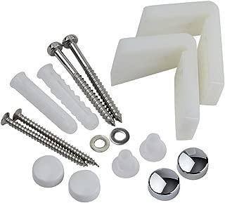 Home Standard WC Toilet Pan Floor Fixing Kits   Bathroom Fixture   L Shape