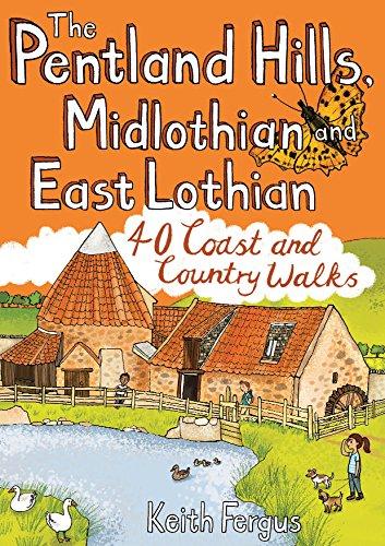 The Pentland Hills, Midlothian and East Lothian: 40 Coast and Country Walks