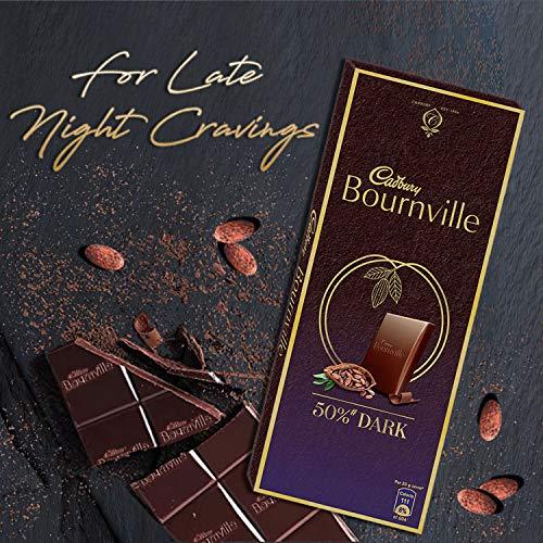 Cadbury Celebrations Rich Dry Fruit Chocolate Gift Box, 177 g & Cadbury Bournville Rich Cocoa Dark Chocolate Bar, 80 gm (Pack of 5) 7