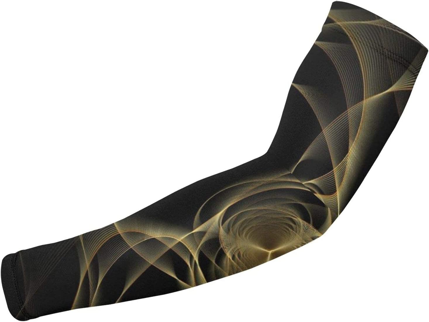 OMOXILOUY Psychedelic Gold New sales NEW before selling ☆ and Black Guard Arm Su Marble Pattern