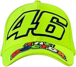 Valentino Rossi Fluorescent Vr46 The Doctor Snapback Cap (Default, Yellow)