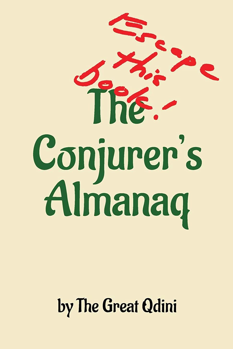 ウール雪だるまカテゴリーThe Conjurer's Almanaq: Escape This Book
