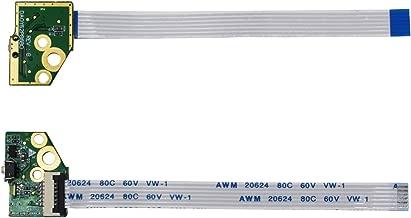 S-Union Laptop Power Button Board Replacement with Cable for HP X360 774599-001 15-U 15-u001xx 15-u010dx 15-u050ca 15-u000 15-u111dx 15-u170ca 15-u100 15-U410NR Series PN: DA0Y62PB6B0 32Y62PB0000