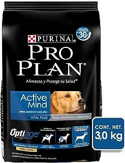Pro Plan Comida para Perro Active Mind, Razas Medianas y Grandes