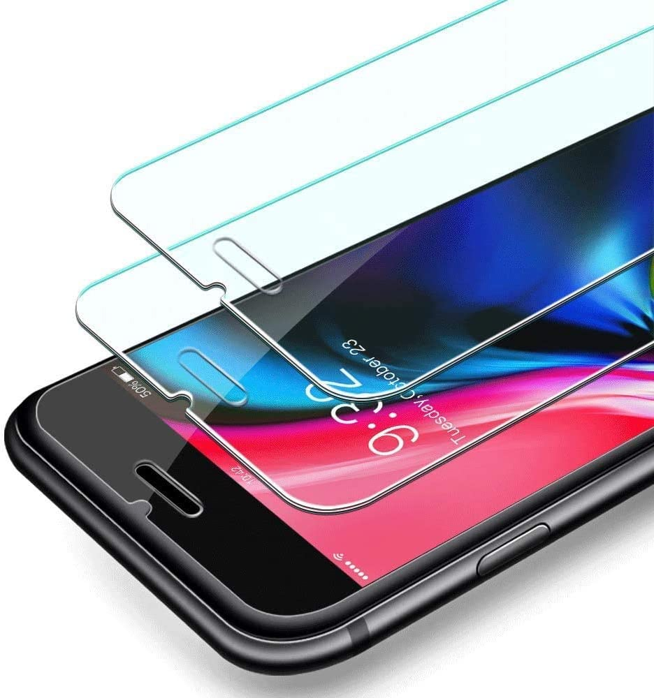 SEVENGO 2PACK iPhone Screen Protector for iPhone SE 2020 Tempered Glass Screen Protector Compatible with iPhone SE2020 Glass Screen Protective Film 4.7