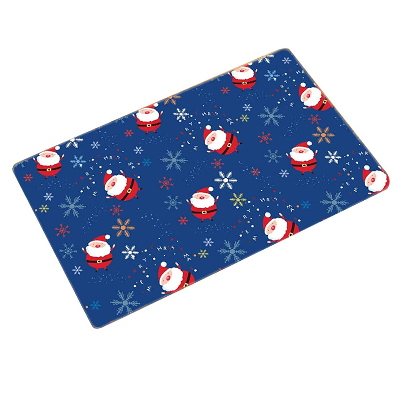 比率虐殺研究所ヨーロッパのカスタムホームパッド玄関マット北欧スリップマットノンスリップパターン豪華なクリスマスの玄関マット40×60センチ(スタイルの62種類)