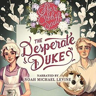 The Desperate Duke audiobook cover art