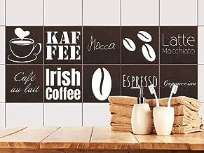 Fliesenaufkleber Bild Fliesenbild Fliesen Aufkleber Kaffee Bad Küche Deko FP1P6Q