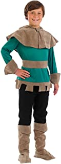 Childrens Robin Hood Costume Kids Medieval Outlaw Thief Outfit
