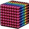 マジックブロック(8色)、建設玩具玩具ゲーム、ミニボール、事務用品、開発、学習、ストレスリリーフ(512個、5mm)