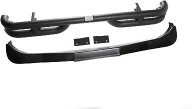 Rugged Ridge 11571.10 Textured Black Rear Tube Bumper For Select Jeep Wrangler JK Models