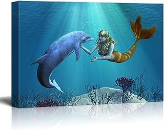 Best mermaid swimming painting Reviews