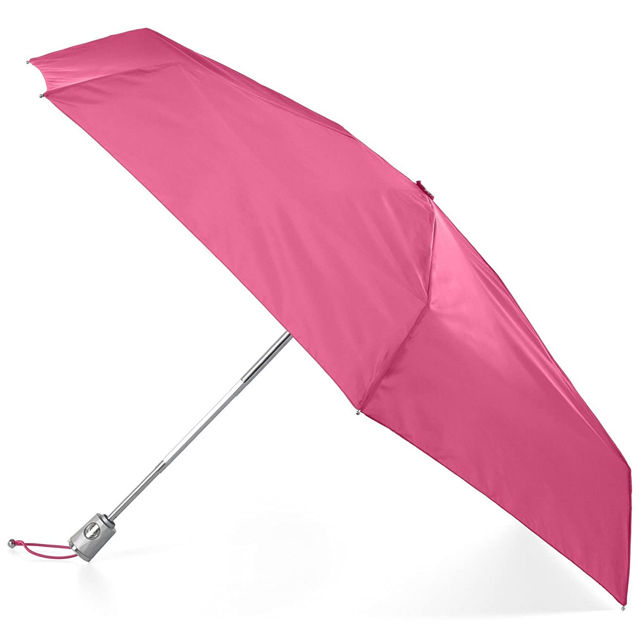totes Auto Open Close Compact Umbrella with NeverWet and SunGuard
