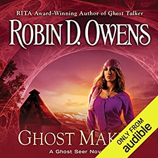 Ghost Maker     Ghost Seer, Book 5              By:                                                                                                                                 Robin D. Owens                               Narrated by:                                                                                                                                 Coleen Marlo                      Length: 9 hrs and 24 mins     1 rating     Overall 5.0