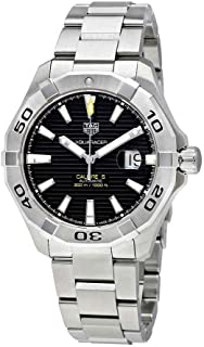TAG Heuer Aquaracer Black Dial Calibre 5 Automatic Men's Watch WAY2010.BA0927