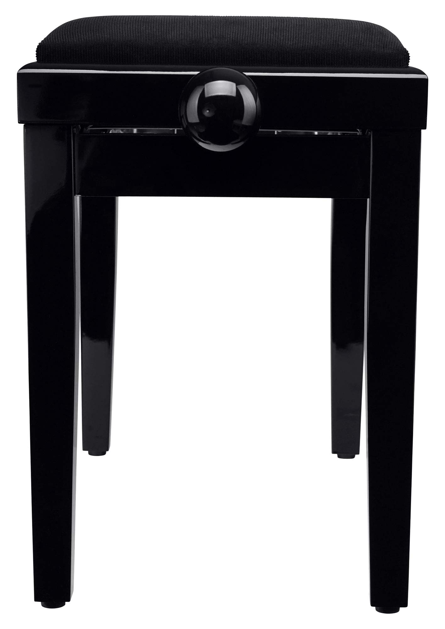 Banco para piano Classic Cantabile en negro brillante: Amazon.es ...