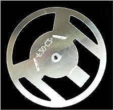 MAXIAOQIN MXQIN Horno de microondas de Piezas de la Placa del Hierro Blender 17cm con la Placa de Apoyo 3pcs