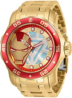 ساعة انفيكتا مارفل ايرون مان كوارتز للرجال 32423
