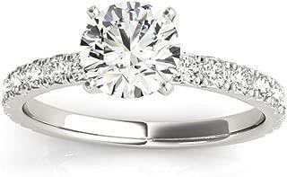Best 1 carat single diamond ring Reviews