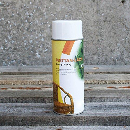 BIENENKORB24 Pflegelack für Rattan & Peddigrohr 400 ml- Honig