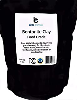 Food Grade Sodium Bentonite Clay (5 Pounds)
