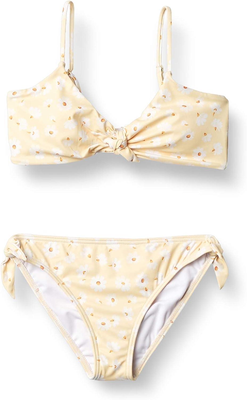 Billabong Girls' Little Bit of Sunshine Hanky Tie Two Piece Swimsuit Set