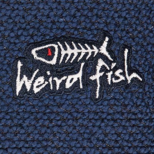 Weird Fish Herren Cruiser 1/4 Zip Makkaroni Fleece Dark Navy L