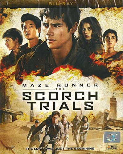 Maze Runner The Scorch Trials (Wes Ball, 2015) (Blu-Ray) Brand New Factory Sealed