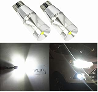 WLJH 2 Pack T10 LED Bulbs,Extremely Bright Cree 9W Canbus Error Free W5W 194 LED Parking Light for VW Polo Golf 5 6 7 GTI Passat B5 B6 B7 Jetta Bora MK5 MK6 Tiguan