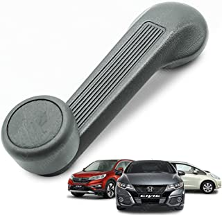 Powerwarauto Window Crank Door Handle Manual Regulators Gray Left Or Right For Honda Civic Accord EX DX LX Sedan Hatchback 1984 1990 1995 2000