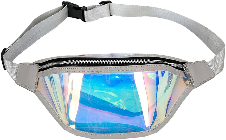 OKMPL Belly Fashion Beach Bag Women Messenger Cute Laser Crossbody Fashion Chest Bag Monederos