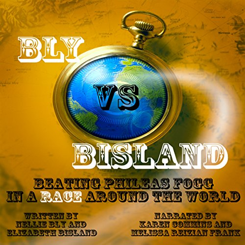 Bly vs. Bisland audiobook cover art