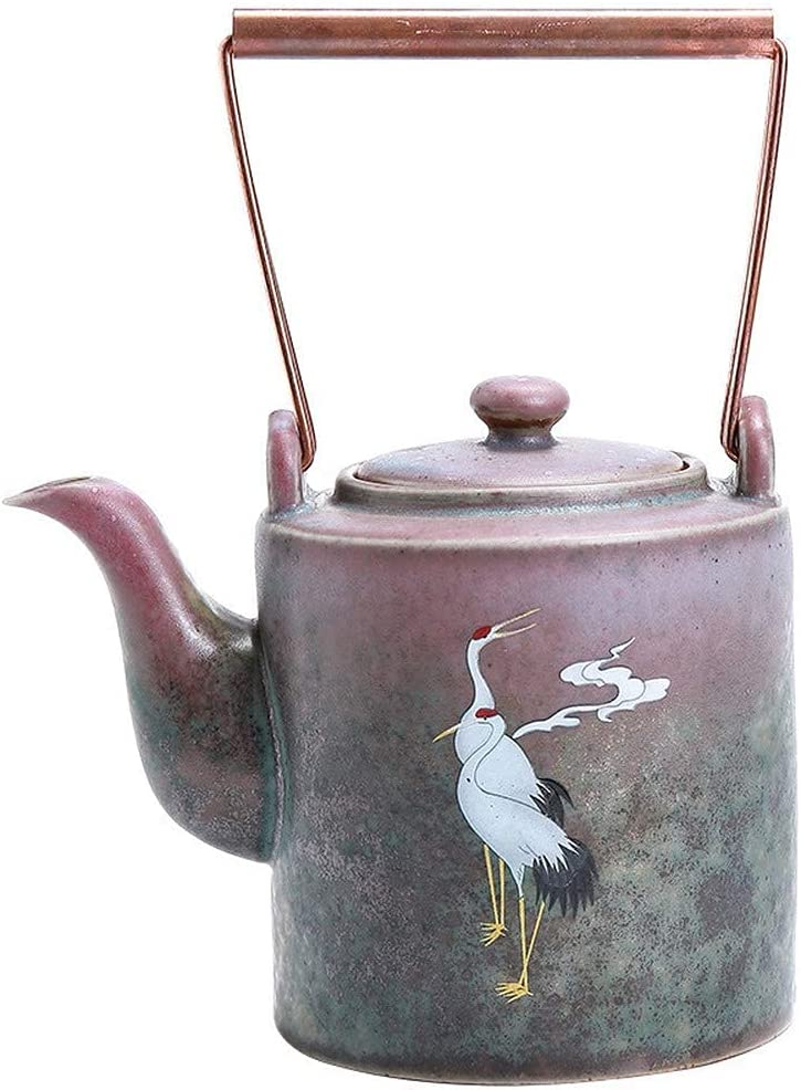 Teapot Japanese, Chinese Traditions Red-Crowned Pottery Limited time Outlet sale feature for free shipping Coarse