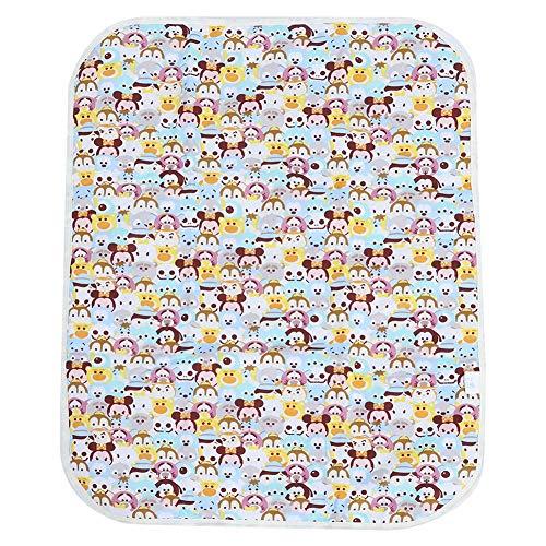 Aankleedkussenhoes Waterdicht Ademend Babymatras Wasbaar en herbruikbaar Luier Aankleedkussen Matrasbeschermer voor kinderen of volwassenen(Dieren)