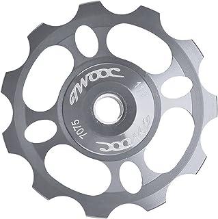 Bike Guide Wheel, Aluminum Alloy Bicycle Rear Derailleur Jockey Wheel Rear Derailleur Pulley 11T Bike Accessories